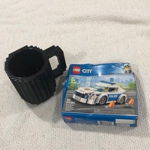 LEGO City Police Cruiser NIB and Mug